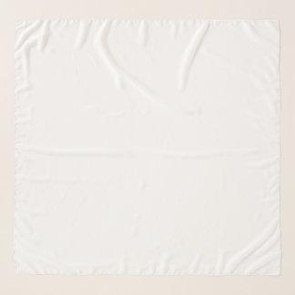 """Écharpe carrée de mousseline de soie, 50"""" x 50"""""""