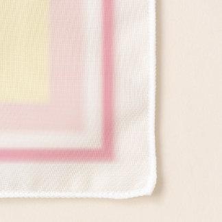 Écharpe de carré de renoncule de roses d'été de