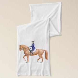 Écharpe de cavalier de cheval de dressage