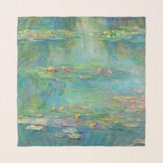 Écharpe de Chifon de nénuphars de Monet
