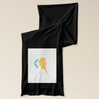 Écharpe de drapeau de la Chypre