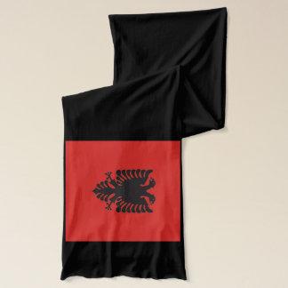 Écharpe de drapeau de l'Albanie