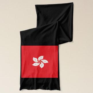 Écharpe de poids léger de drapeau de Hong Kong
