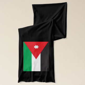 Écharpe de poids léger de drapeau de la Jordanie