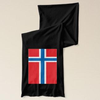 Écharpe de poids léger de drapeau de la Norvège