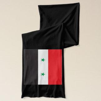 Écharpe de poids léger de drapeau de la Syrie