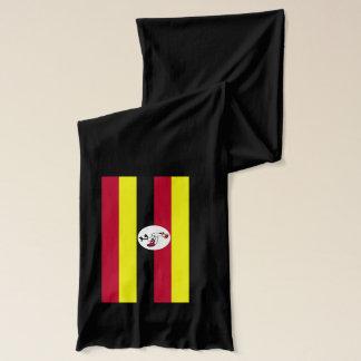 Écharpe de poids léger de drapeau de l'Ouganda