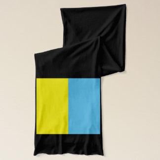 Écharpe de poids léger de drapeau de l'Ukraine
