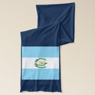 Écharpe de poids léger de drapeau du Guatemala