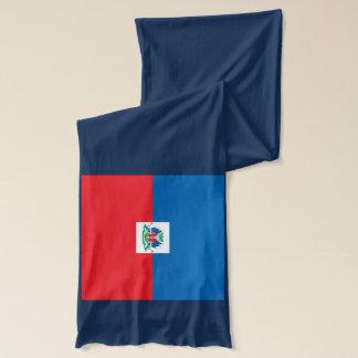 Écharpe de poids léger de drapeau du Haïti