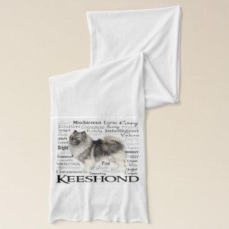 Écharpe de traits de Keeshond