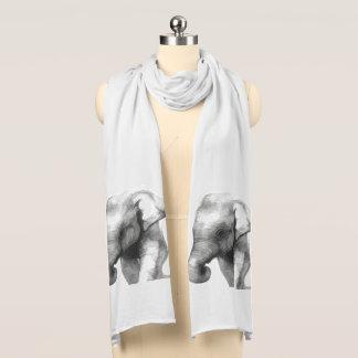 Écharpe éléphant-bébé