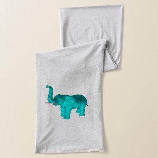 Écharpe Éléphant bleu-clair