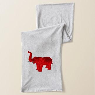 Écharpe Éléphant rouge