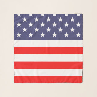 Écharpe faite sur commande patriotique de
