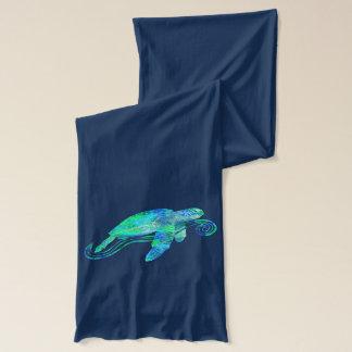 Écharpe Graphique de tortue de mer
