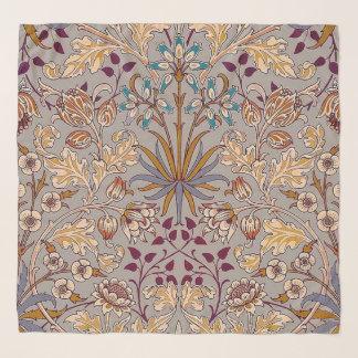 Écharpe grise de Chifon de jacinthe de colombe