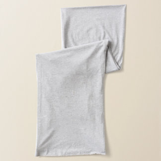 Écharpe grise de Heather Jersey
