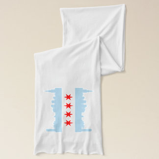 Écharpe Horizon de drapeau de Chicago