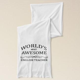Écharpe Le professeur d'Anglais le plus impressionnant du