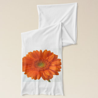 Écharpe Marguerite orange de Gerbera