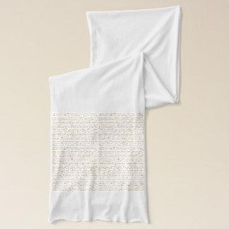 Écharpe Mots d'écharpe de Jane Austen