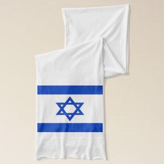 Écharpe patriotique avec le drapeau de l'Israël