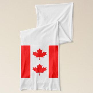 Écharpe patriotique avec le drapeau du Canada