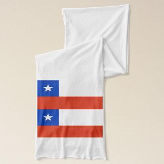 Écharpe patriotique avec le drapeau du Chili