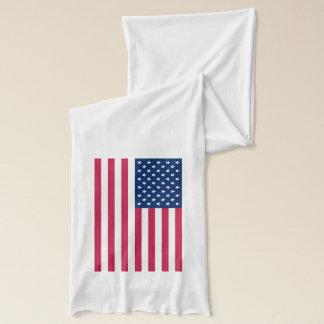 Écharpe patriotique et spéciale avec le drapeau