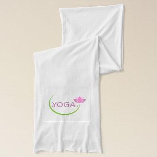 Écharpe Poses de YOGA avec un lotus rose