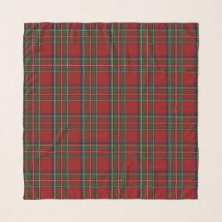 Écharpe royale de mousseline de soie de tartan de