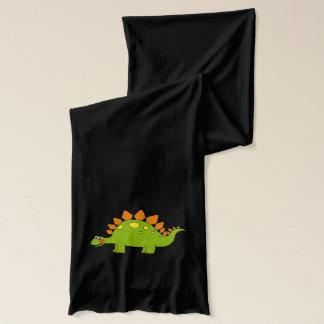 Écharpe stegosaurus de dinosaure de bande dessinée