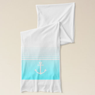 Écharpe Turquoise Ombre nautique