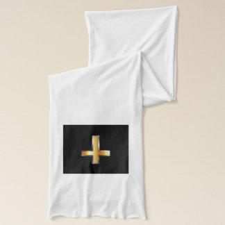 Écharpe Une croix inversée la croix de St Peter