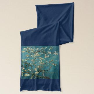 Écharpe Van Gogh - arbre d'amande de floraison