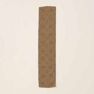 Écharpe vintage de mousseline de soie de