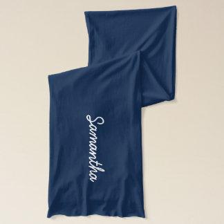 Écharpes nommées personnalisées pour des femmes