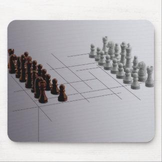 Échecs de concepteur tapis de souris