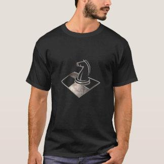Échecs ; Noir frais T-shirt