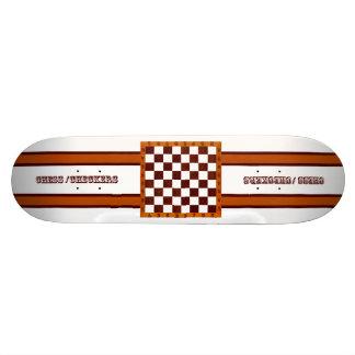 échecs/planche à roulettes de contrôleurs skateboard 19,7 cm