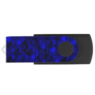 Échelles bleu-foncé de sirène de Falln Clé USB 3.0 Swivel