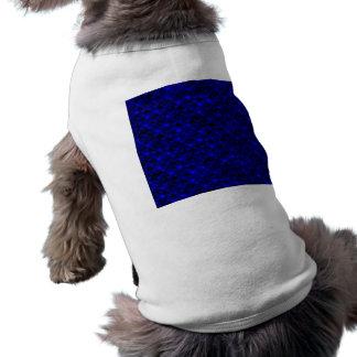 Échelles bleu-foncé de sirène de Falln T-shirt Pour Chien