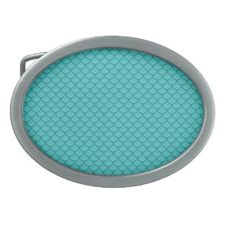 Échelles de sirène boucles de ceinture ovales