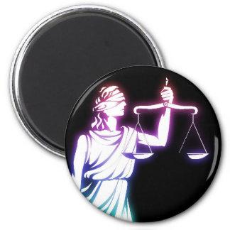 Échelles de Themis   de justice Aimant