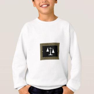 échelles encadrées de justice sweatshirt