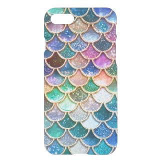 Échelles Mermaidscales de scintillement de sirène Coque iPhone 7