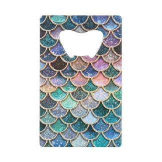 Échelles multicolores de luxe de sirène de