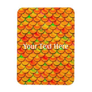 Échelles oranges et vertes de Falln Magnet Flexible