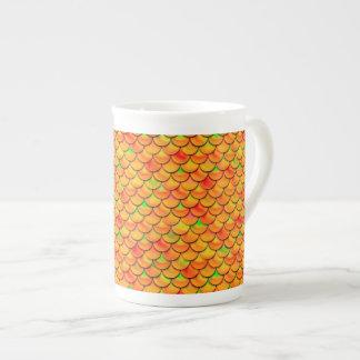 Échelles oranges et vertes de Falln Mug